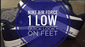 NIKE AIR FORCE 1 LOW | QUICK LOOK + ON FEET