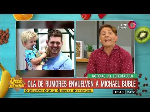 Ola de rumores envuelven a Michael Bublé