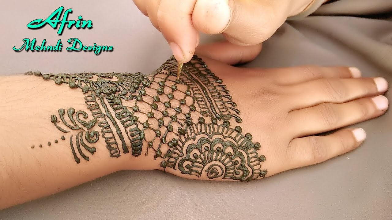 pictures Mughlai Mehndi Designs – Our Top 40 Mughlai Henna Arts