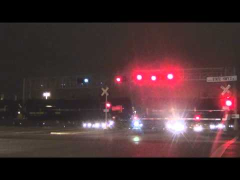 UP 6018 Leads a Loaded Oil Train - Webster, TX