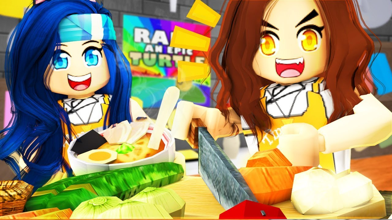 MAKING PRISON FOOD IN ROBLOX MEEP CITY!