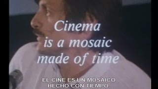 Tarkovski's meeting in Italy : 'Il cinema è un mosaico fatto di tempo' (1984)