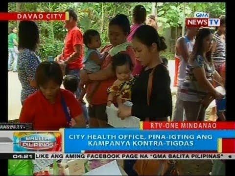 BP: City health office, pina-igting ang kampanya kontra-tigdas