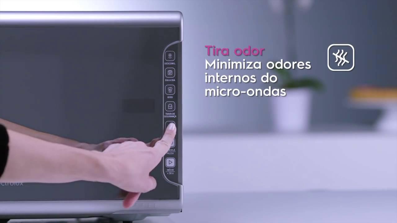 875360576 Micro ondas MI41S - Electrolux - YouTube