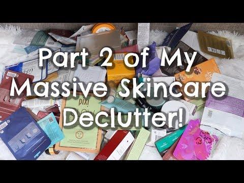 Huge Skincare Declutter Part 2 thumbnail