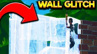How To GLITCH THROUGH Walls In Fortnite