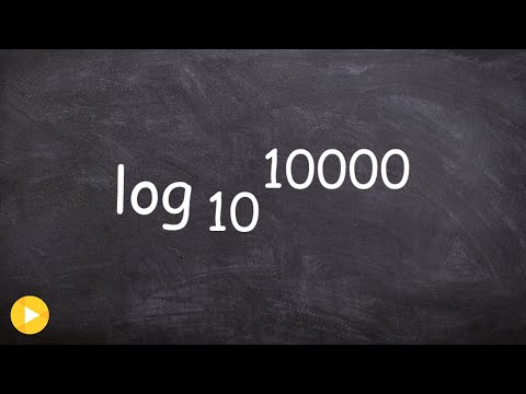 Evaluating a Logarithm with Base 10