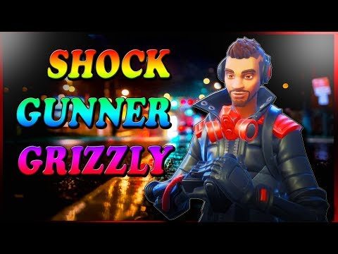 Fortnite- Hero Overview-Shock Gunner Grizzly (gameplay) 🤔🤔🤔