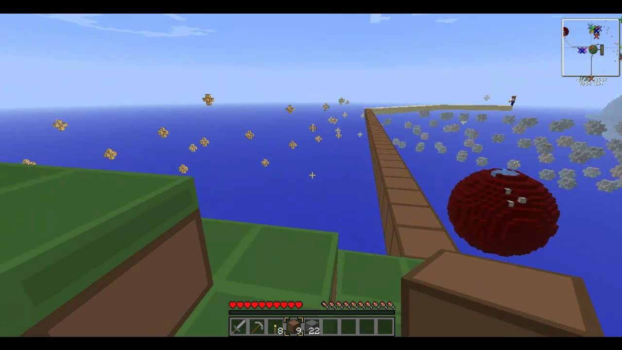 Minecraft Solar System Survival Map w Blindo and Tony Ep 3