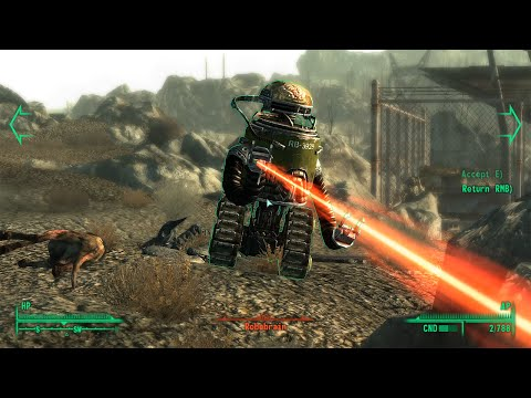 Fallout 3 walkthrough part 23. VAPL-84 power station, Jocko's Pop & Gas stop, Smith Casey's garage