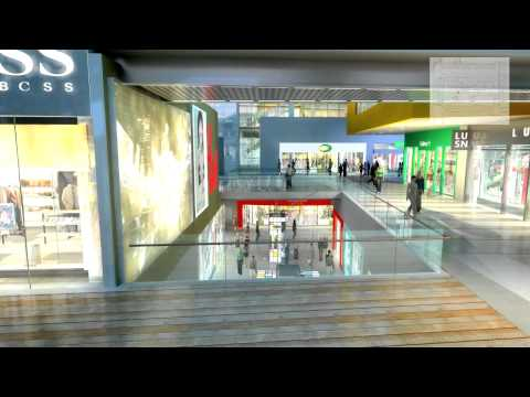 Outdoor Display Simulation: Shopping Mall Ver. 1