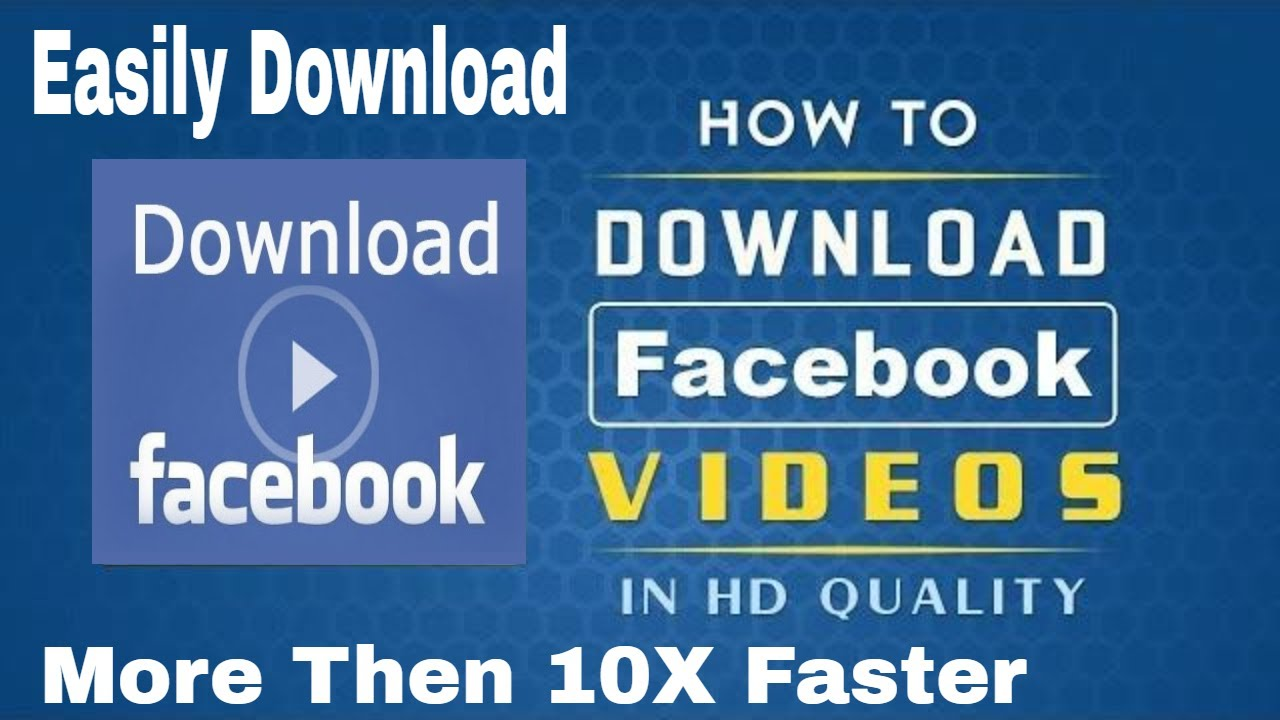 download video from facebook 2019