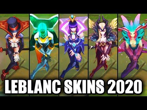 All LeBlanc Skins Spotlight 2020 - Championship Latest Skin (League of Legends)