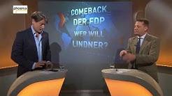 """Augstein und Blome: """"Comeback der FDP - Wer will Lindner?"""" am 15.09.17"""