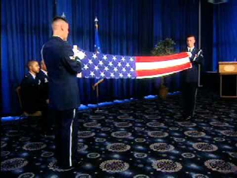 Two Person Retirement Flag Folding Ceremony.wmv