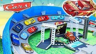 МАШИНКИ большие ГОНКИ: Машинки мультика Тачки, Тачки 2, Тачки 3 - мультики про машинки Disney Cars 3