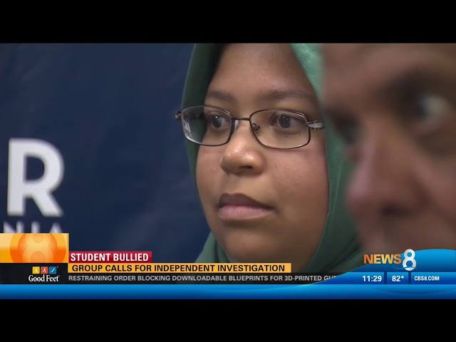 Video: CAIR-San Diego Calls for Independent Probe of Bullying