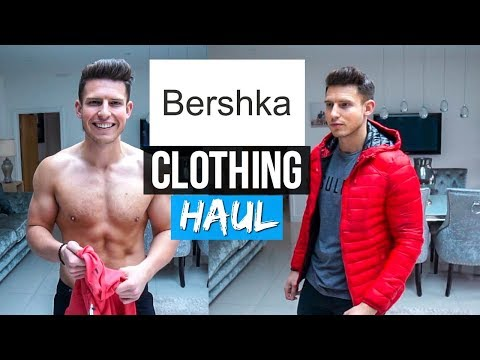 BERSHKA Men's Clothing Haul & Try On | AW18