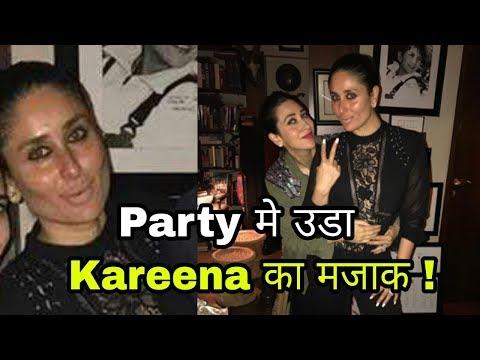 Kareena Kapoor Khan insuted and trolled for her looks in Saif Ali Khan's birthday bash ! Omg ! Bebo