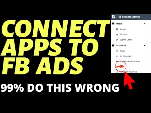 How To Connect Your App To Facebook  (Mobile App Install Ads)