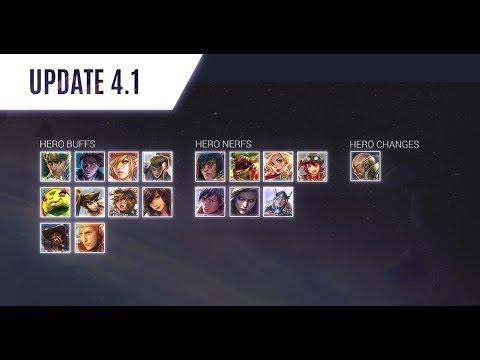 Vainglory Update 4.1 Changes