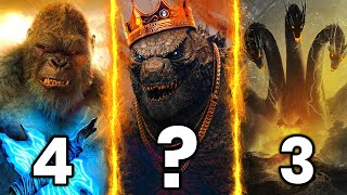Top 10 Powerful Monsters in Godzilla vs Kong { HINDI }