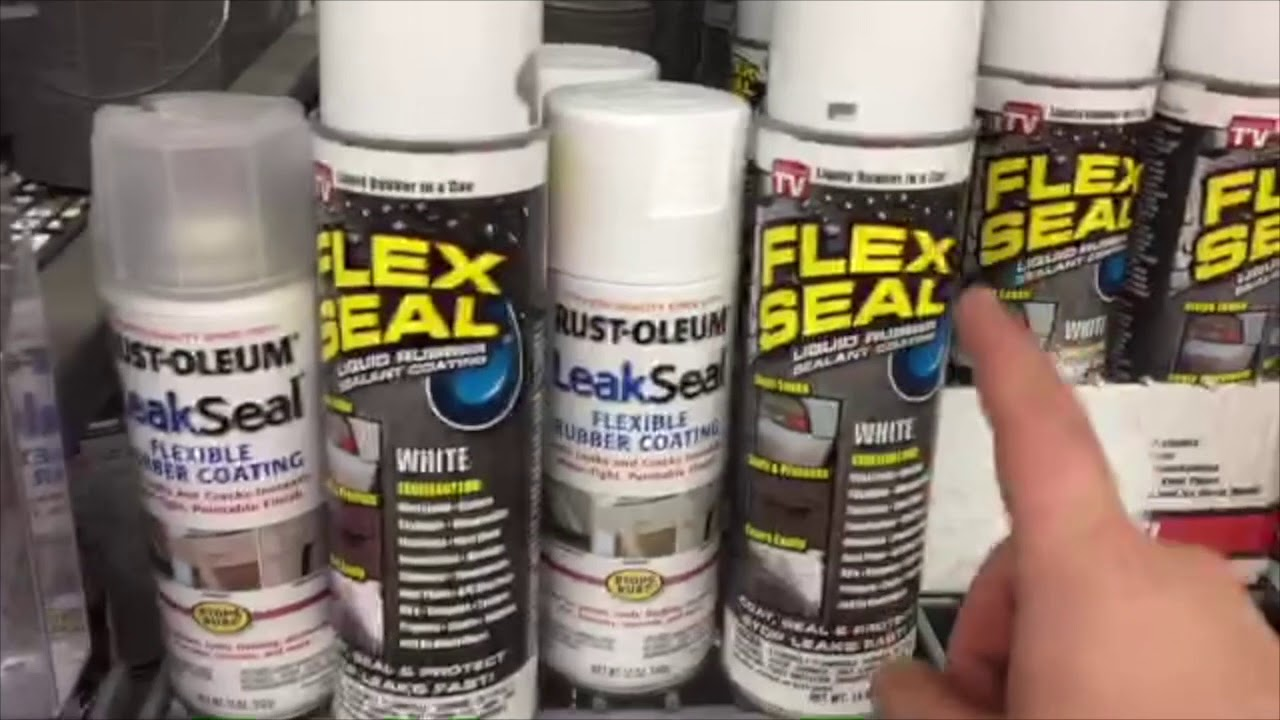 Sealing A Boat Floor With Flex Seal