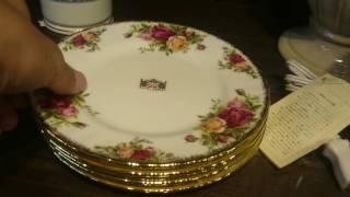 ROYAL ALBERT ENGLAND ロイヤルアルバート 皿 プレート 栃木県 宇都宮市