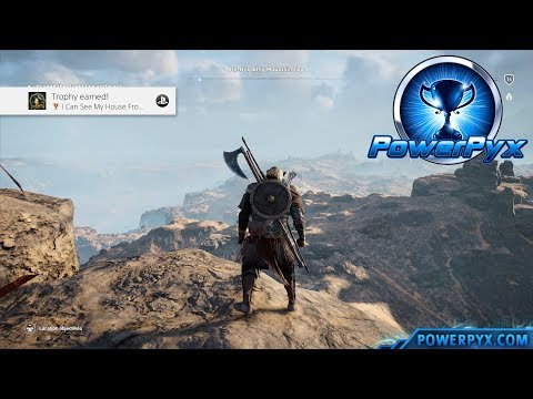 Assassin's Creed Origins - I Can See My House From Here! Trophy / Achievement Guide (Highest Point)