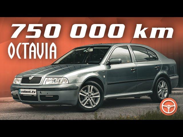 Ako jazdí Škoda Octavia so 750 000 km? - volant.tv - volant.tv