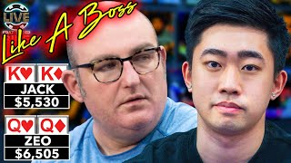 How to Play Pocket Kings Like a Boss ♠ Live at the Bike!