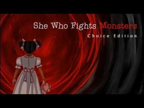 She Who Fights Monsters: Choice Edition (RPG Maker Horror) - Full | Flare Let's Play