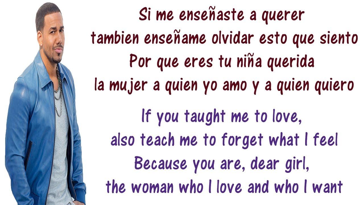 Aventura - Enseñame a Olvidar Lyrics English and Spanish ...Aventura - Enseñame a Olvidar Lyrics English and Spanish - Translation &  Meaning