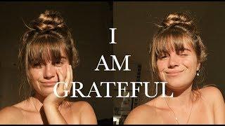 I am grateful || Verbal manifestations