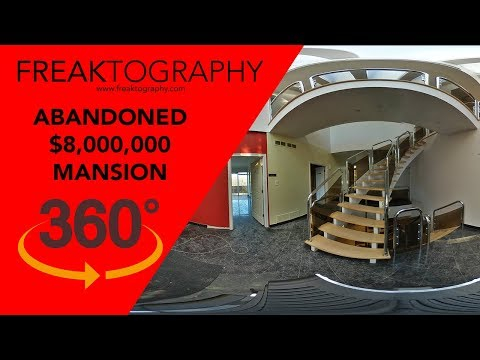 360 Degree Interactive 8 Million Dollar Abandoned Mansion Virtual Tour Abandoned Mansion On YouTube