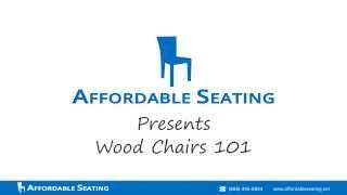 Restaurant Chairs 101