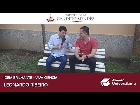 Projeto Viva Ciência, com o professor Leonardo Ribeiro