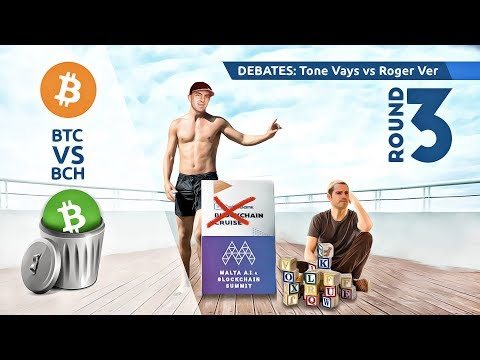 Trading Bitcoin - Another Roger Ver Debate Later Today! thumbnail