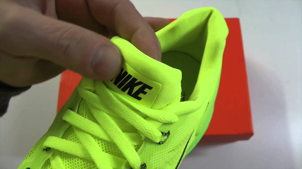 the best attitude 7d679 fc1f7 MOVESHOP NIKE LUNARGLIDE 6 654433 701 VOLT FLASH LIME BLACK - YouTube