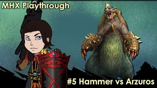 Monster Hunter Cross ¦MHX¦ Ep #5: Bear of The Big Blue Variety