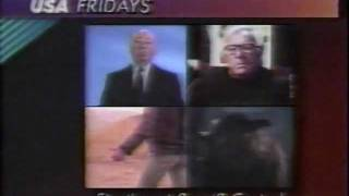 USA 1989 Alfred Hitchcock Presents / The Ray Bradbury Theater / The Hitchhiker / Werewolf Commercial