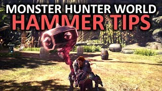 Monster Hunter World Hammer Tips
