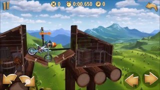 tree houses trials frontier platinum medal walkthrough