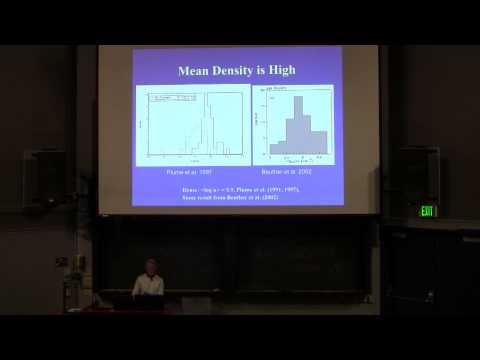 """Neal Evans """"High Mass Star Formation and Connection to Galaxies"""""""