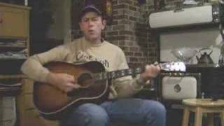 "Cover Merle Haggard ""If We Make It Through December"" sung by Allan"