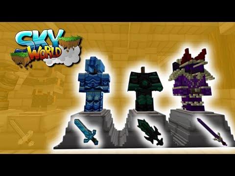 Alle Schwerter für die Rüstungen!- #28 - Minecraft Sky World