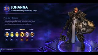Heroes of the Storm - Johanna Guide