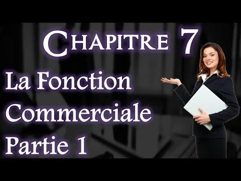 L'entreprise et Son Environnement Chapitre 7 : Fonction Commerciale Partie 1 (Darija)