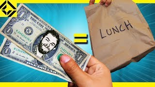 Using Fake Money to Buy Real Food