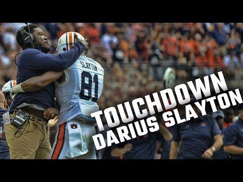 Watch Jarrett Stidham Complete A 53-yard Touchdown Pass To Darius Slayton